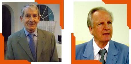Pedro A. Grisa, Fundador do IPAPPI, e Itelvino Giacomelli, diretor do IPAPPI-SP: